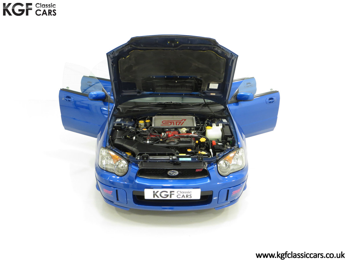 2005 A Subaru Impreza WRX STi Type UK with Only 13,968 Miles For Sale (picture 4 of 24)