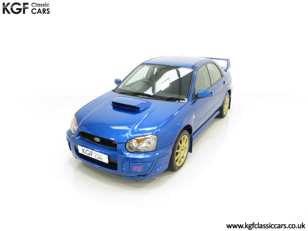 2005 A Subaru Impreza WRX STi Type UK with Only 13,968 Miles For Sale (picture 5 of 24)