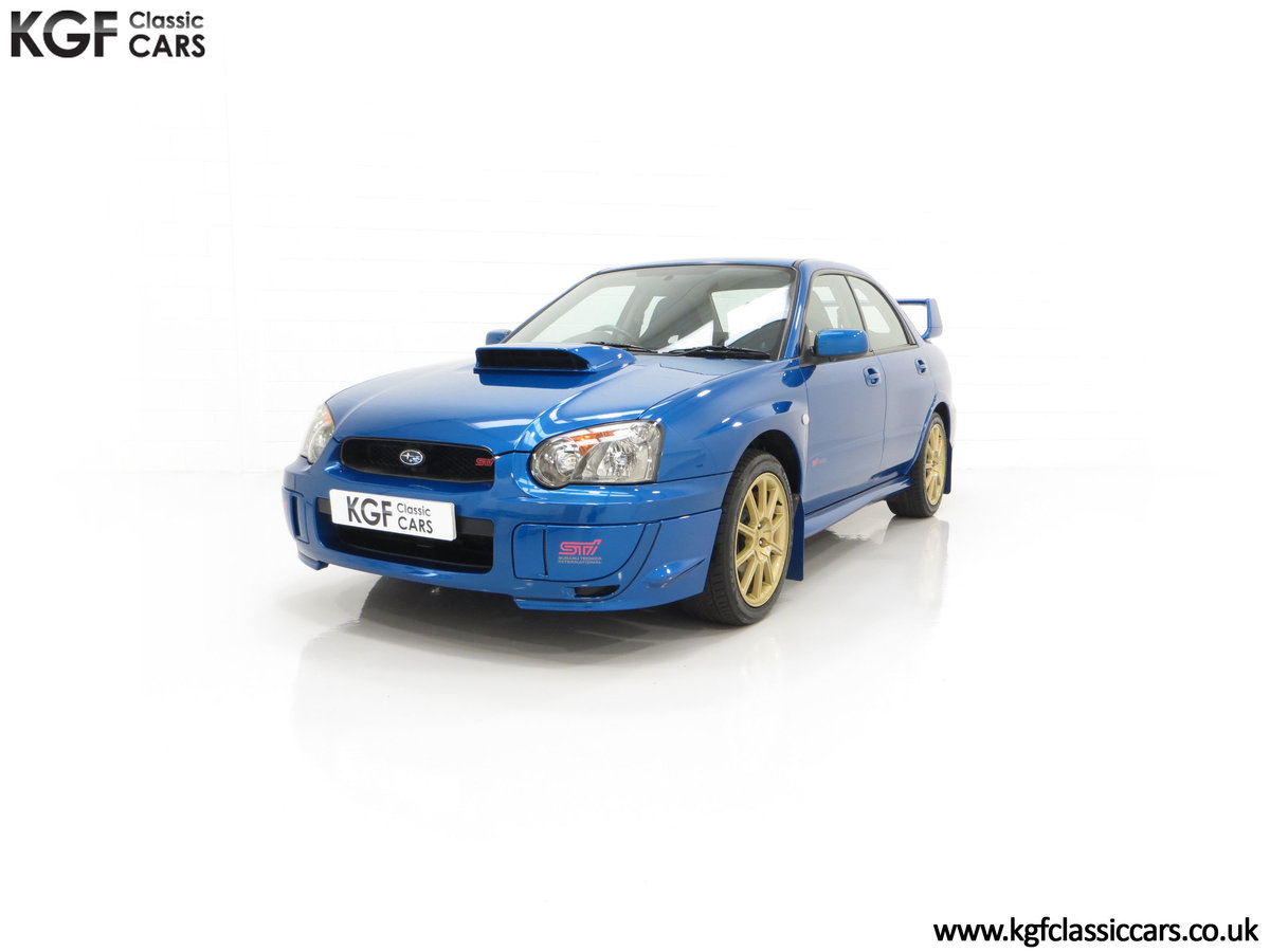 2005 A Subaru Impreza WRX STi Type UK with Only 13,968 Miles For Sale (picture 6 of 24)