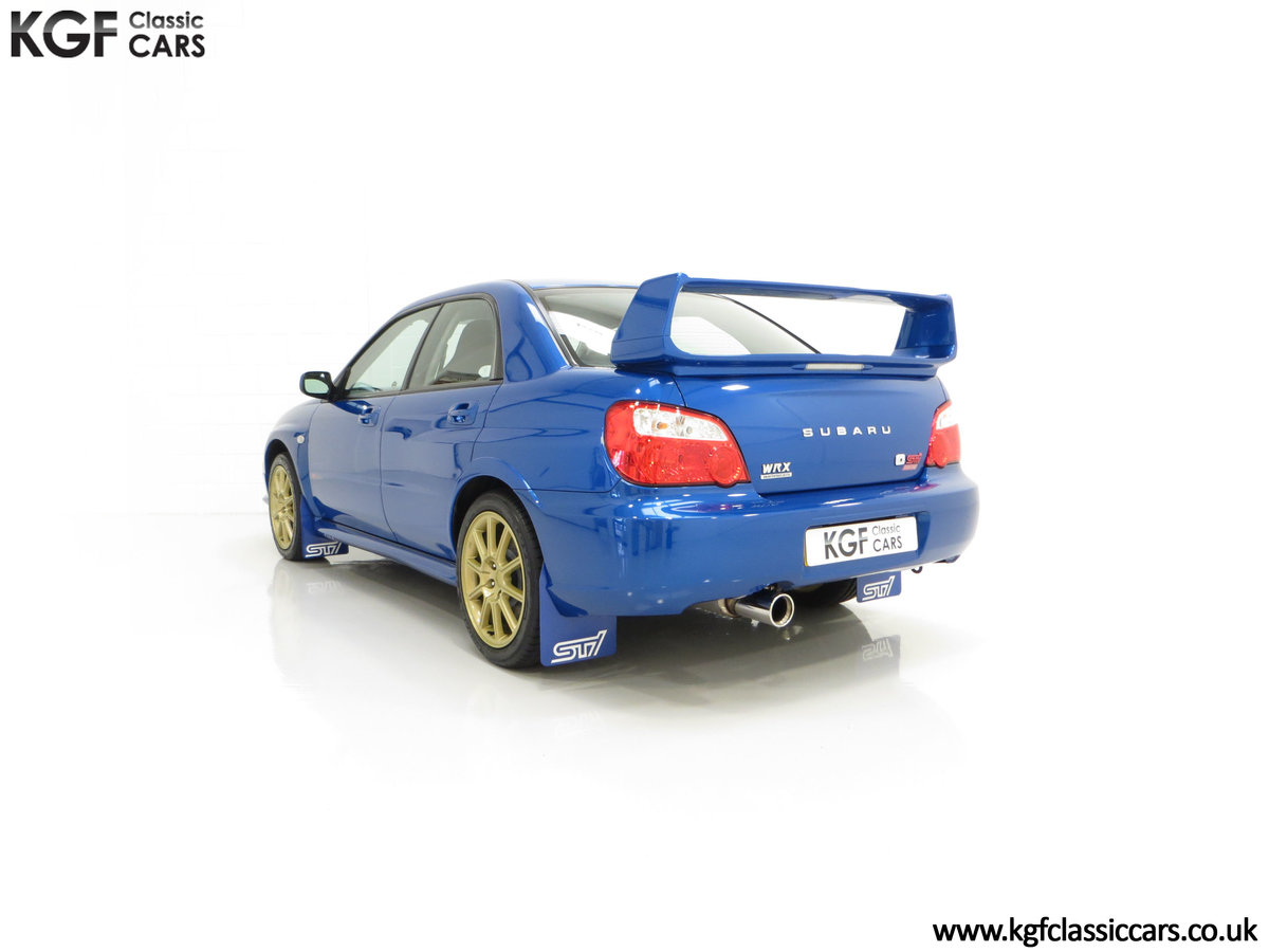 2005 A Subaru Impreza WRX STi Type UK with Only 13,968 Miles For Sale (picture 8 of 24)