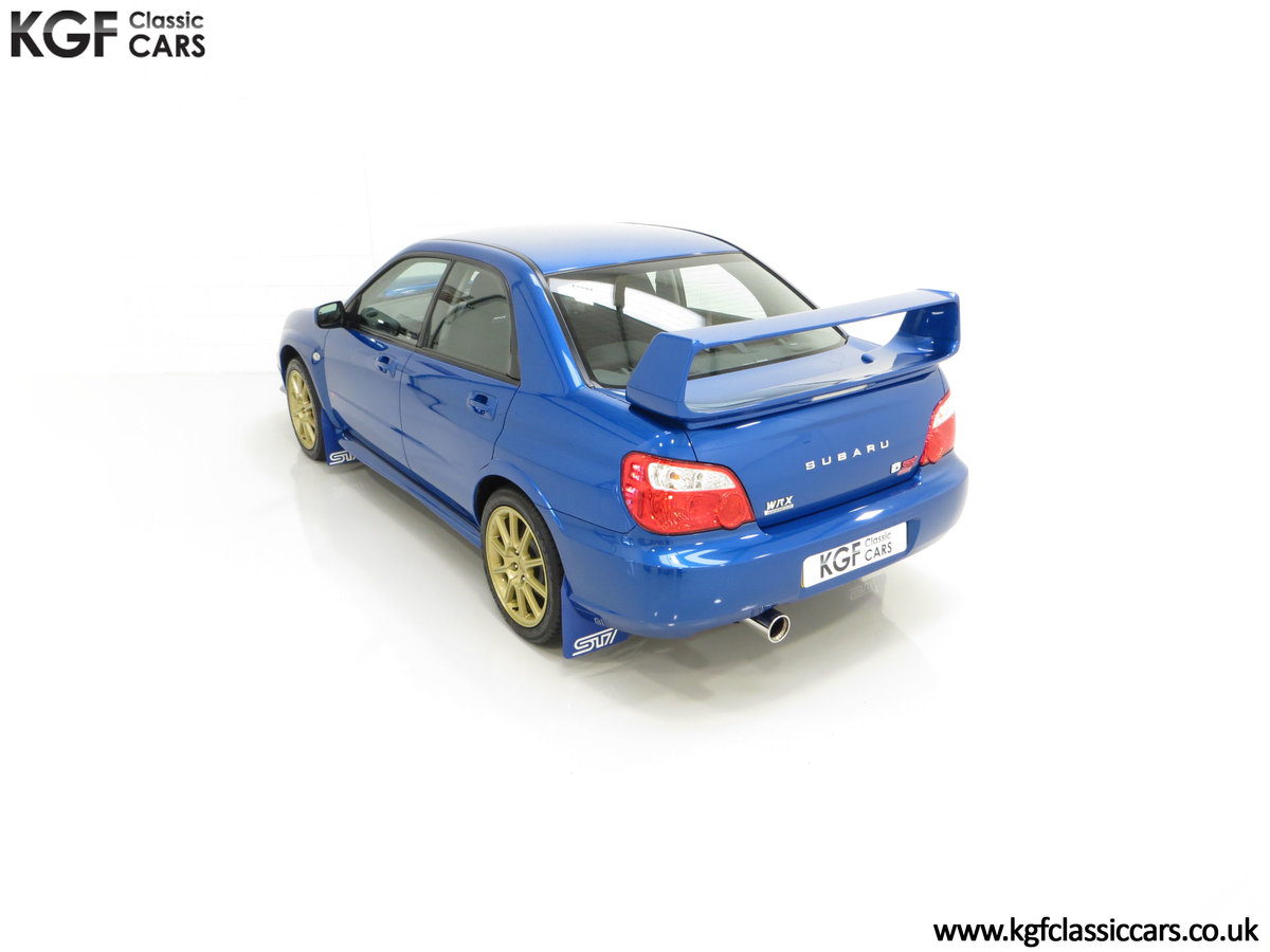 2005 A Subaru Impreza WRX STi Type UK with Only 13,968 Miles For Sale (picture 9 of 24)