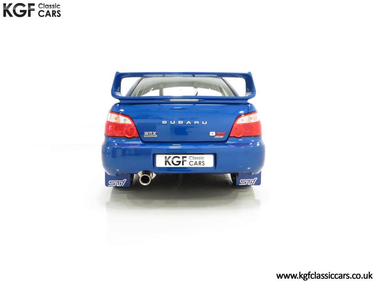 2005 A Subaru Impreza WRX STi Type UK with Only 13,968 Miles For Sale (picture 10 of 24)