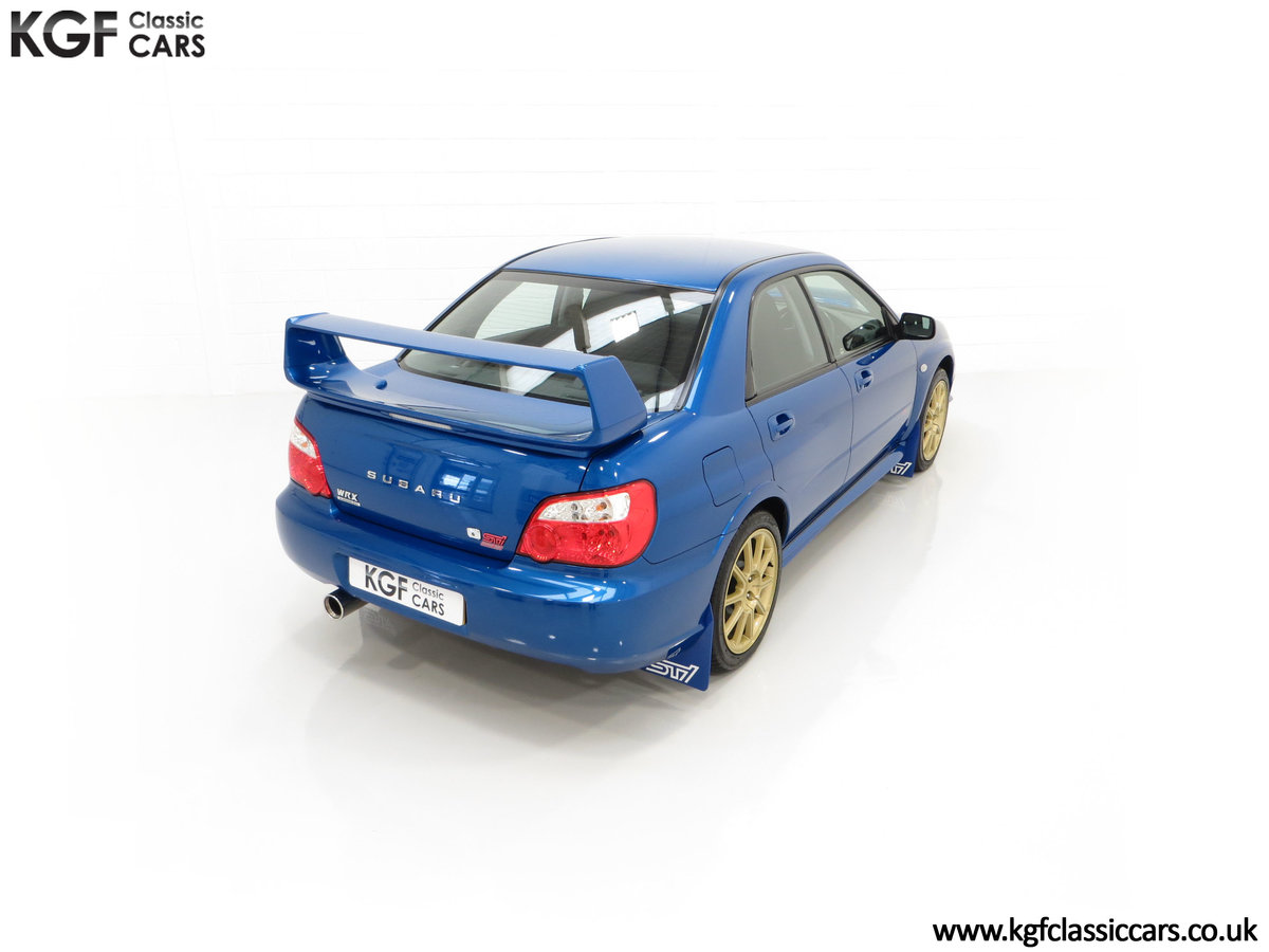 2005 A Subaru Impreza WRX STi Type UK with Only 13,968 Miles For Sale (picture 12 of 24)