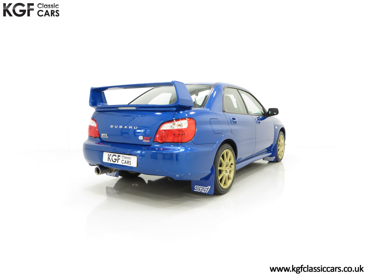 2005 A Subaru Impreza WRX STi Type UK with Only 13,968 Miles For Sale (picture 13 of 24)