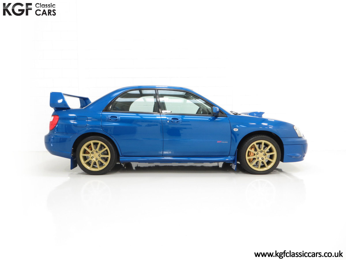 2005 A Subaru Impreza WRX STi Type UK with Only 13,968 Miles For Sale (picture 14 of 24)