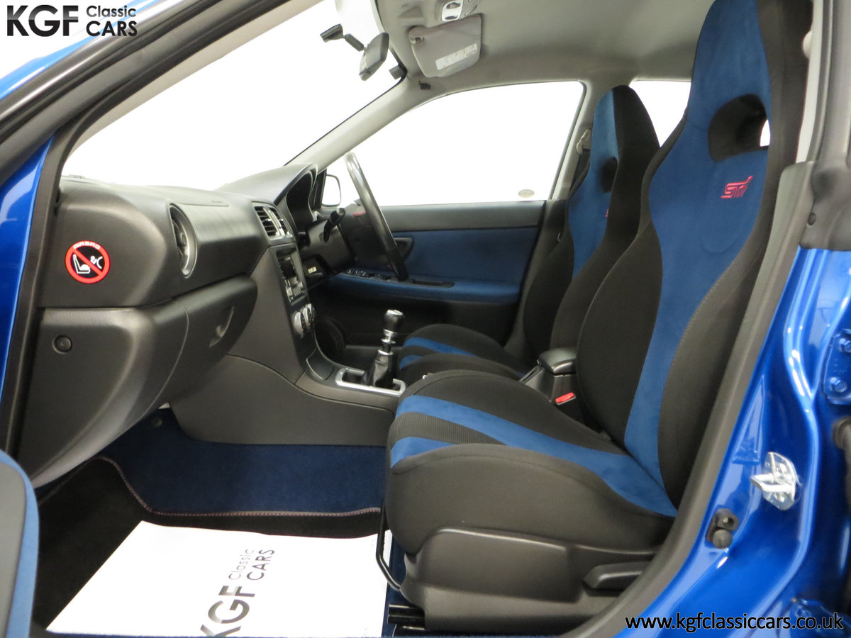2005 A Subaru Impreza WRX STi Type UK with Only 13,968 Miles For Sale (picture 19 of 24)