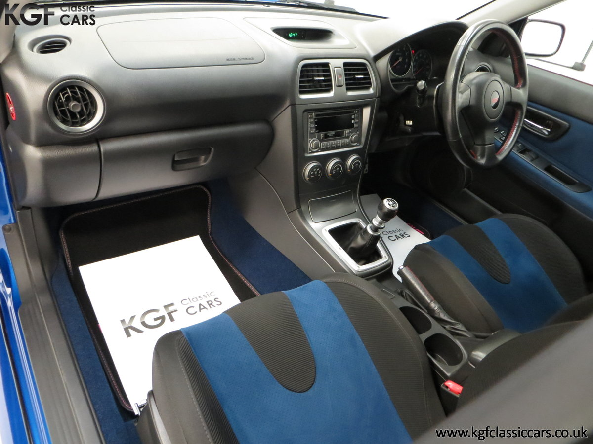 2005 A Subaru Impreza WRX STi Type UK with Only 13,968 Miles For Sale (picture 23 of 24)
