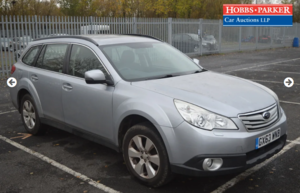Subaru Outback 52,255 miles at auction 25th
