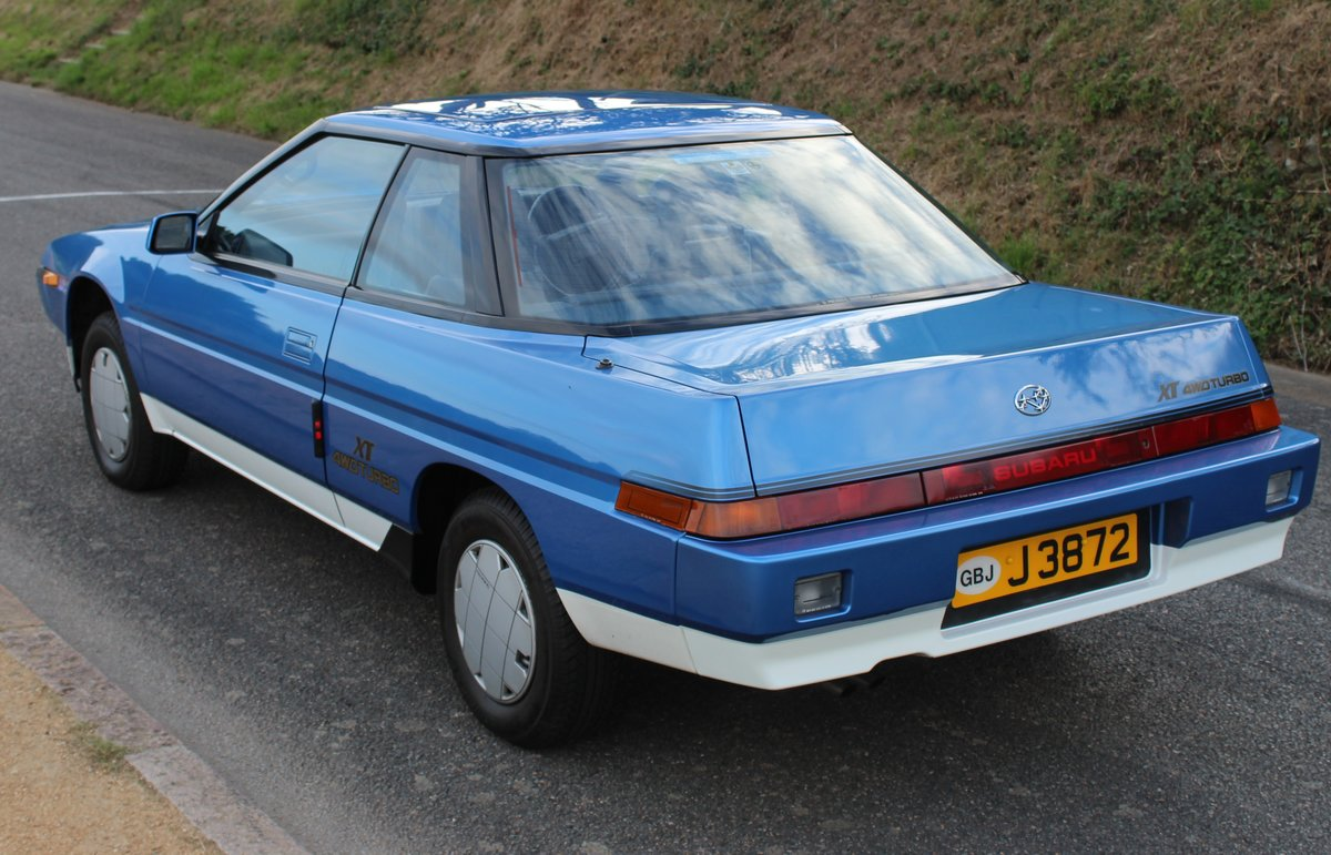 1986 Subaru XT 4WD Turbo - original immaculate condition For Sale (picture 2 of 6)