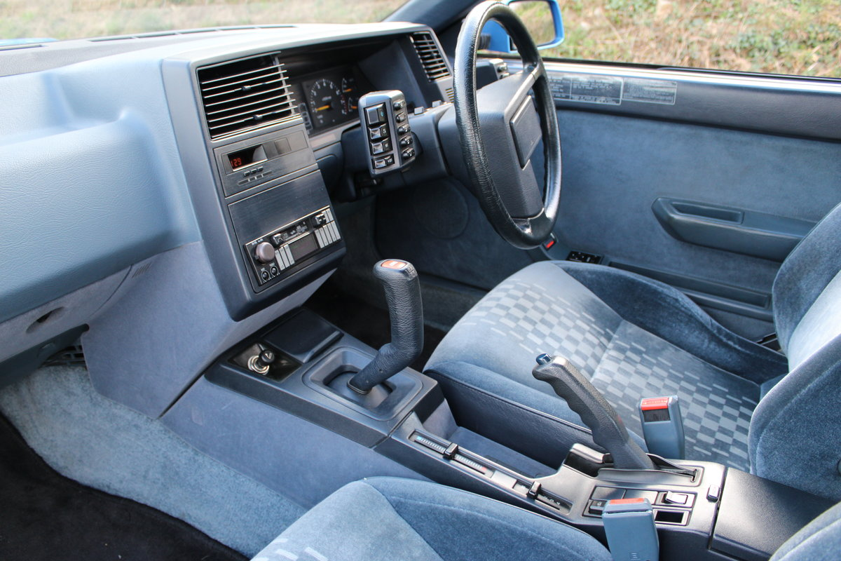 1986 Subaru XT 4WD Turbo - original immaculate condition For Sale (picture 5 of 6)