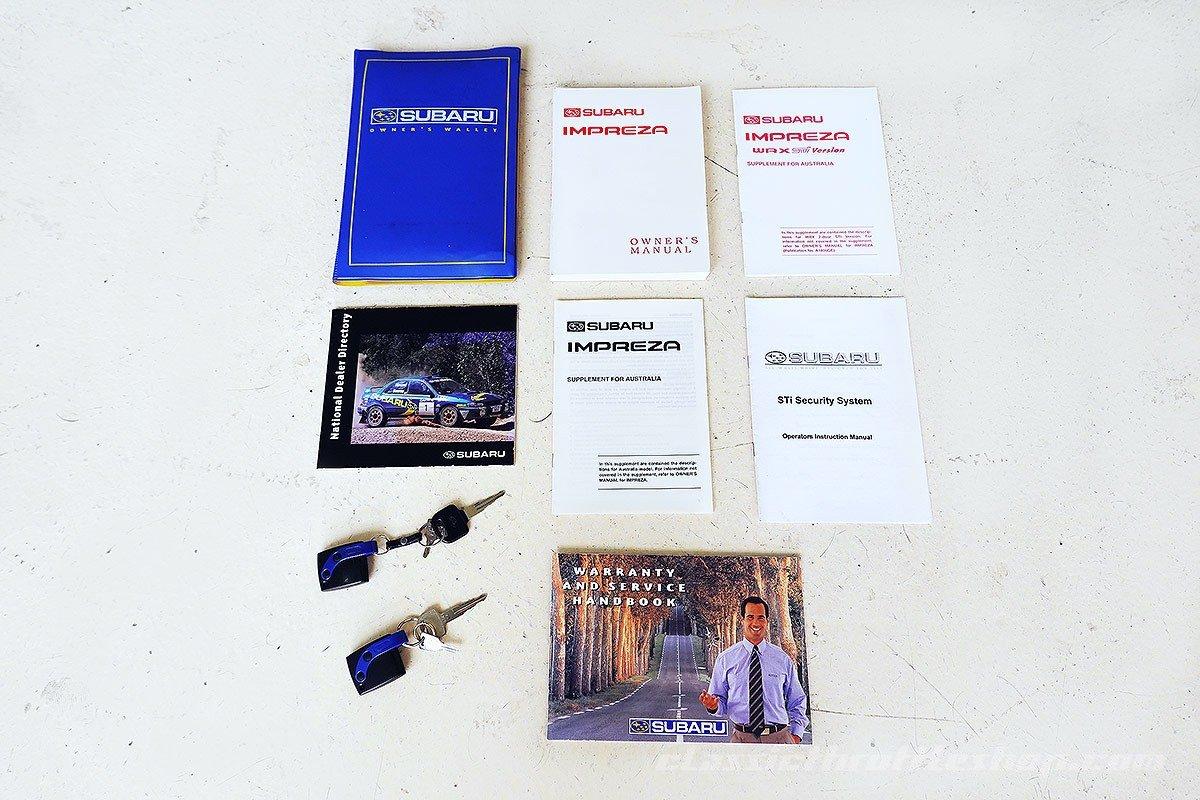 1999 Excellent service history, AUS del. WRX STi, great original For Sale (picture 12 of 12)