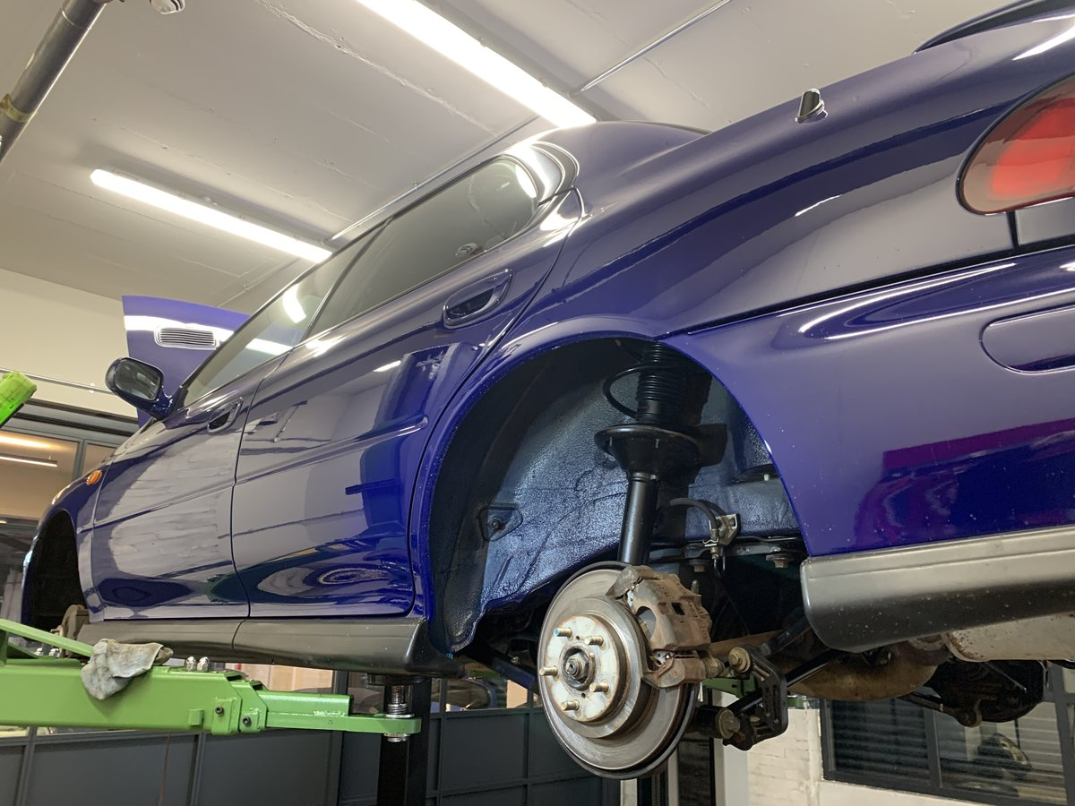 1996 Subaru Impreza WRX V Limited - low-mileage & good underside For Sale (picture 19 of 22)