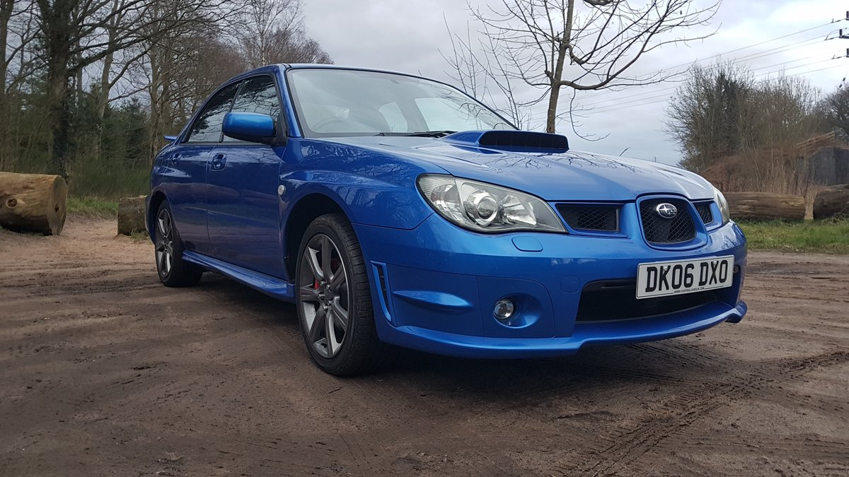 2006 Superb 2.5L WRX Rust Free from Cyprus For Sale (picture 1 of 12)