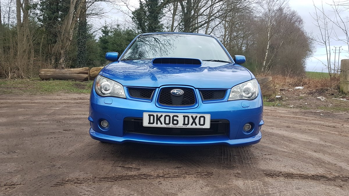 2006 Superb 2.5L WRX Rust Free from Cyprus For Sale (picture 2 of 12)
