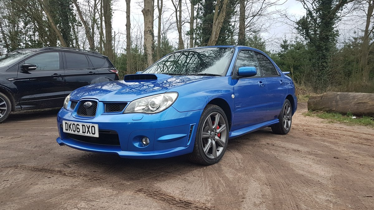 2006 Superb 2.5L WRX Rust Free from Cyprus For Sale (picture 3 of 12)