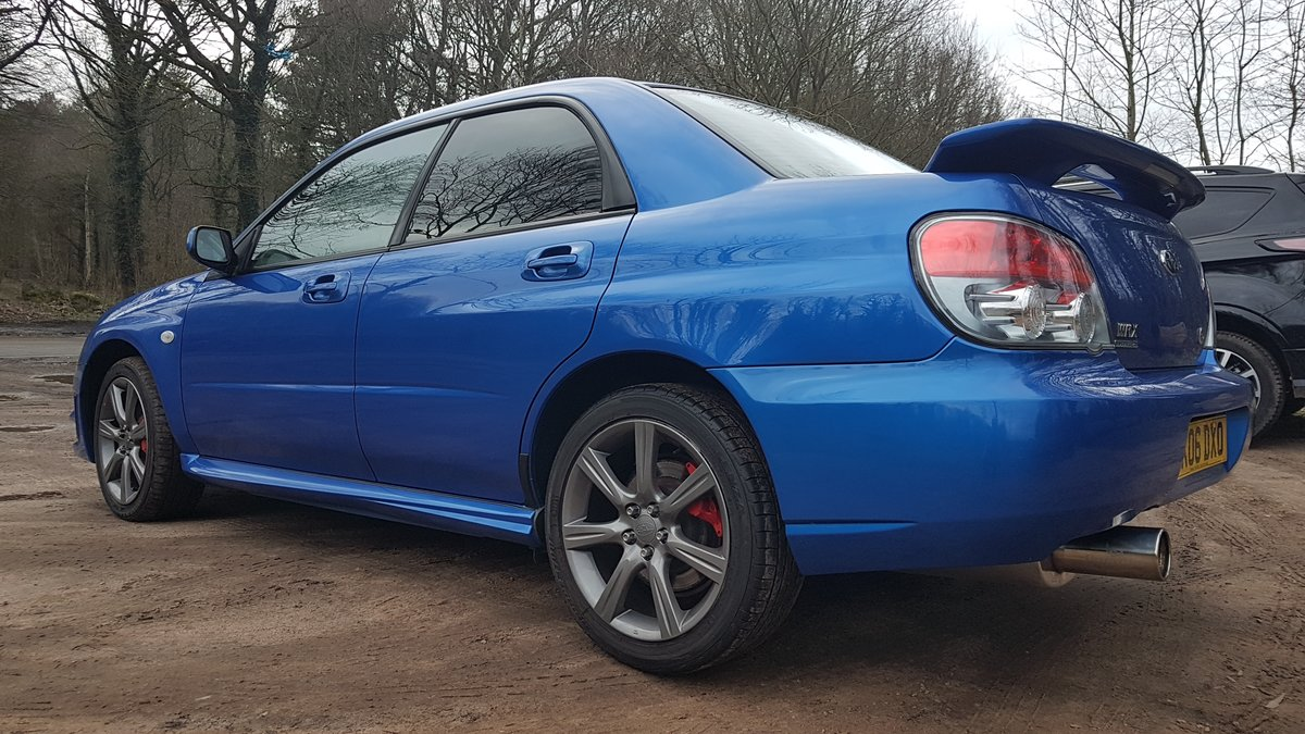 2006 Superb 2.5L WRX Rust Free from Cyprus For Sale (picture 4 of 12)
