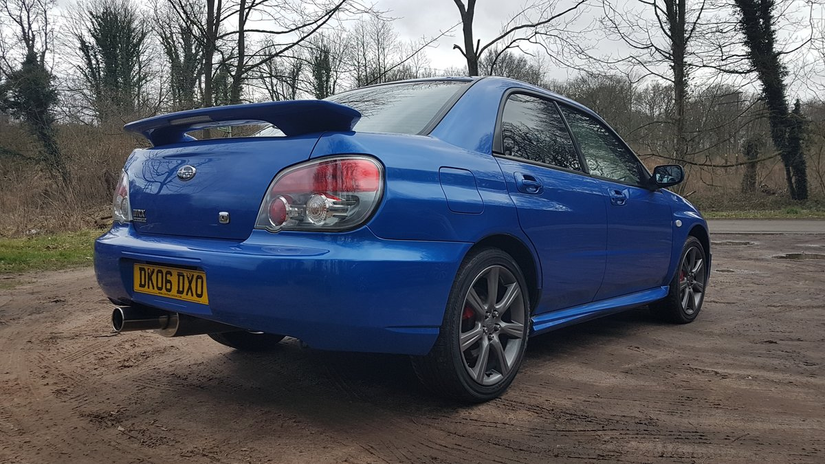 2006 Superb 2.5L WRX Rust Free from Cyprus For Sale (picture 7 of 12)