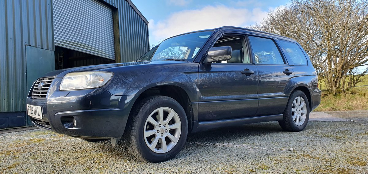 2008 08 Subaru Forester 2.0XEn Auto 1 Lady own FSH Nav Leather For Sale (picture 11 of 12)