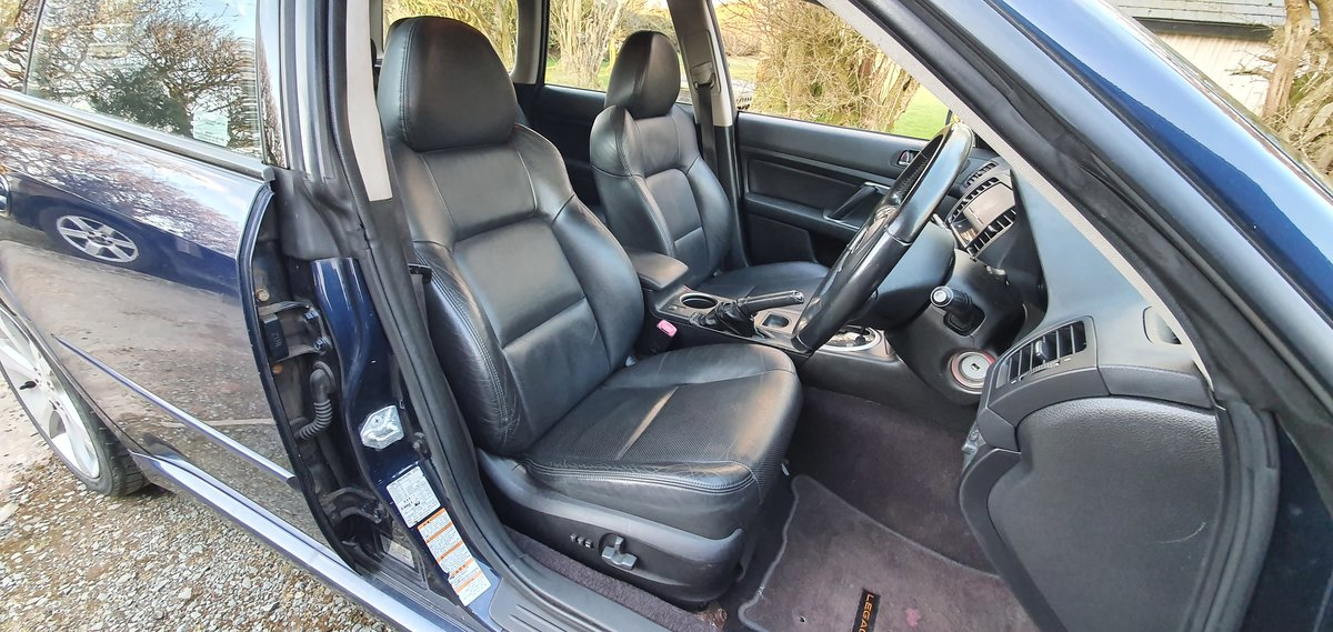 2008 08 Subaru Legacy 2.5 SE Sports Tourer Auto AWD 71,000 miles For Sale (picture 4 of 12)