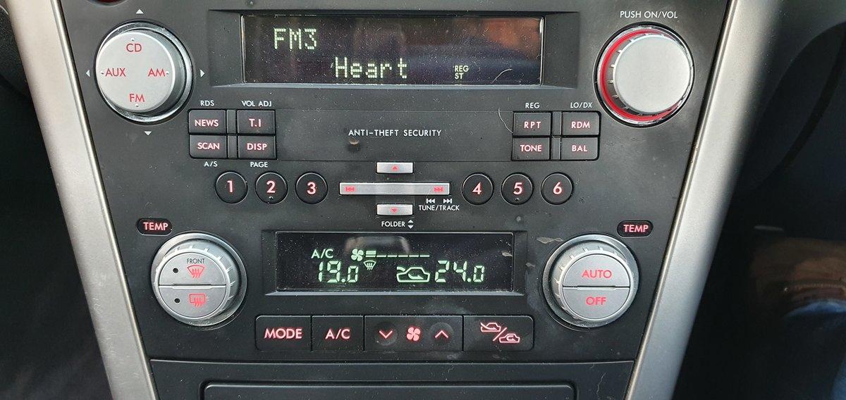 2008 08 Subaru Legacy 2.5 SE Sports Tourer Auto AWD 71,000 miles For Sale (picture 8 of 12)