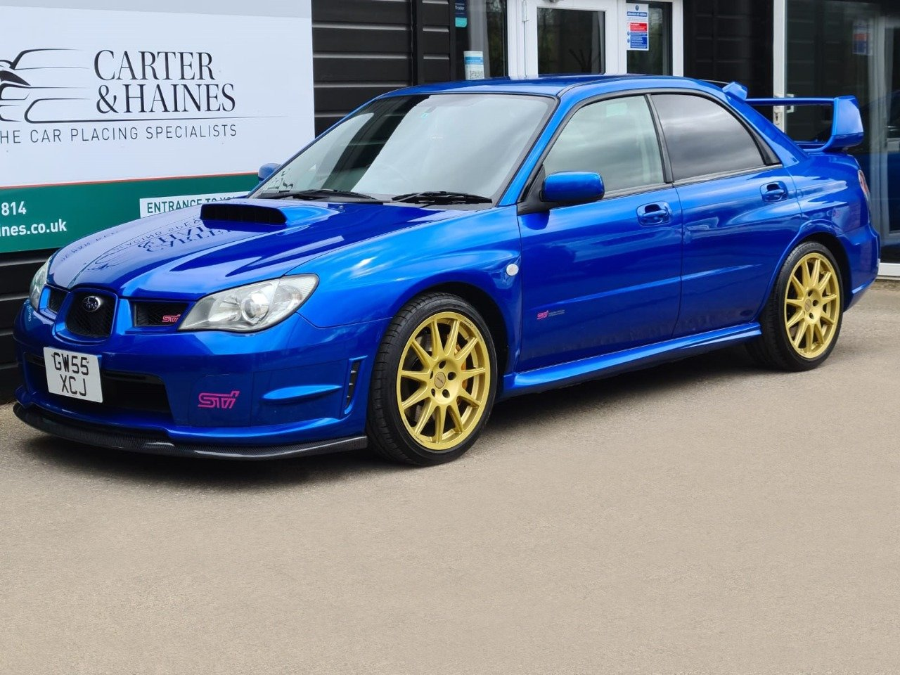 IMPREZA WRX STI (2006/55) Low Tax Band 368 BHP For Sale (picture 1 of 23)