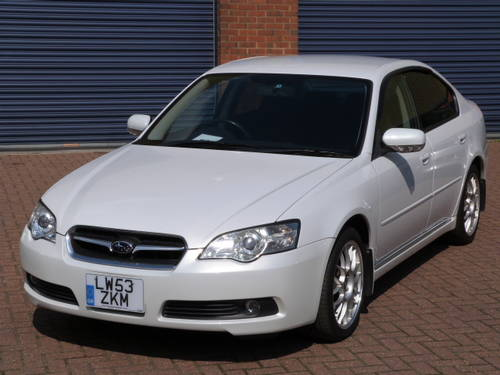 2003 Subaru Legacy B4 4WD 3.0 R Auto For Sale (picture 1 of 6)