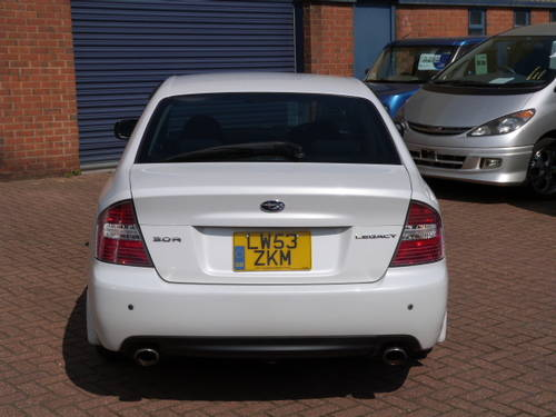 2003 Subaru Legacy B4 4WD 3.0 R Auto For Sale (picture 6 of 6)