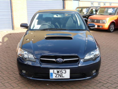 2003 Subaru Legacy B4 GT 4WD 2.0i Turbo Auto For Sale (picture 4 of 6)