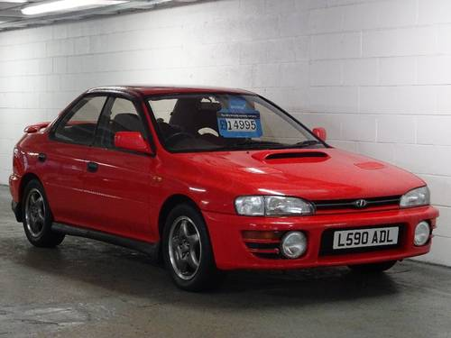 1993 Impreza 2.0 WRX Turbo 4WD JDM 4dr 2,500MLS + 1 OWNER For Sale (picture 1 of 6)