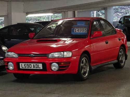 1993 Impreza 2.0 WRX Turbo 4WD JDM 4dr 2,500MLS + 1 OWNER For Sale (picture 4 of 6)