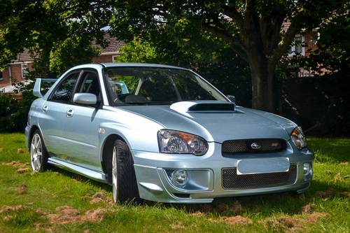 2004 Subaru Impreza 2.0 STi WR1 (Ltd. Edition) 63,500m For Sale (picture 1 of 6)