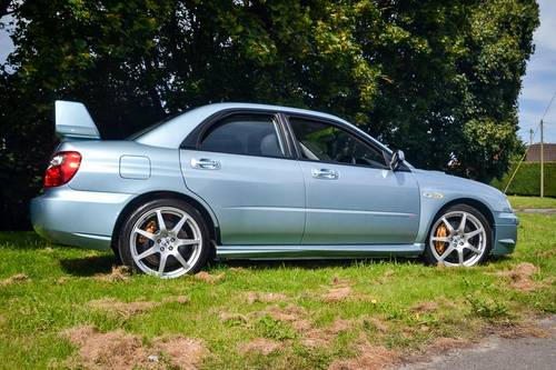 2004 Subaru Impreza 2.0 STi WR1 (Ltd. Edition) 63,500m For Sale (picture 2 of 6)