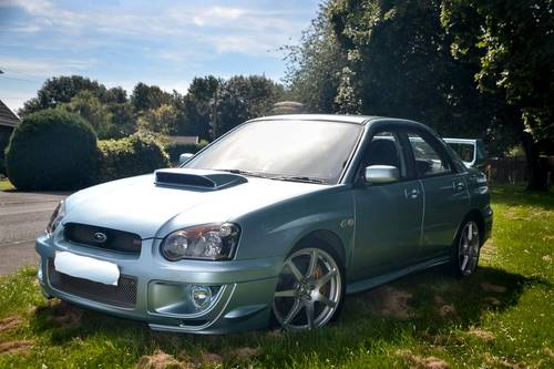 2004 Subaru Impreza 2.0 STi WR1 (Ltd. Edition) 63,500m For Sale (picture 4 of 6)