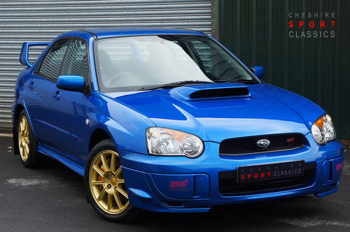 2005 Subaru Impreza WRX STI Type UK - PPP. 12,900 miles from new. SOLD (picture 1 of 6)