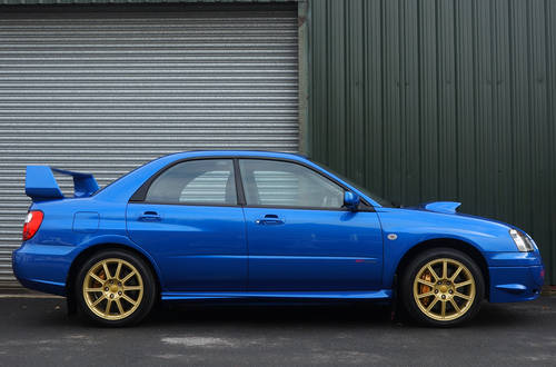 2005 Subaru Impreza WRX STI Type UK - PPP. 12,900 miles from new. SOLD (picture 2 of 6)