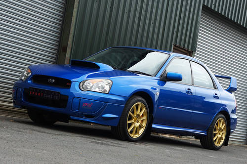 2005 Subaru Impreza WRX STI Type UK - PPP. 12,900 miles from new. SOLD (picture 3 of 6)