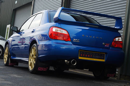 2005 Subaru Impreza WRX STI Type UK - PPP. 12,900 miles from new. SOLD (picture 4 of 6)