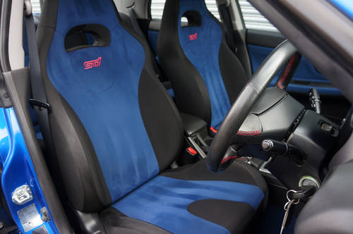 2005 Subaru Impreza WRX STI Type UK - PPP. 12,900 miles from new. SOLD (picture 6 of 6)