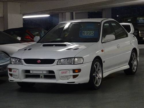 1999 Subaru Impreza 2.0 WRX STi 5 Version 5 RED TOP 280 Bhp 4dr  For Sale (picture 2 of 6)