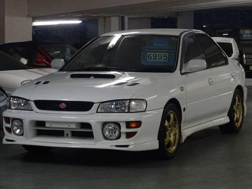 2000 Subaru Impreza 2.0 WRX STi 6 Version 6 RED TOP 280 BHP 4dr  For Sale (picture 2 of 6)