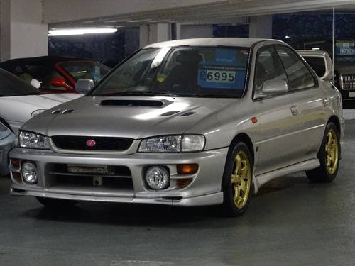 2000 Subaru Impreza 2.0 WRX STi 6 Version 6 RED TOP 280 BHP 4dr  For Sale (picture 2 of 6)