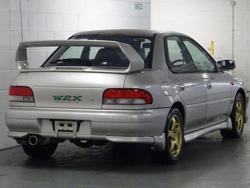 2000 Subaru Impreza 2.0 WRX STi 6 Version 6 RED TOP 280 BHP 4dr  For Sale (picture 4 of 6)