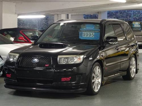 2007 Subaru Forester 2.5 STi SG9 JDM New Shape 5 Door STI  For Sale (picture 2 of 6)