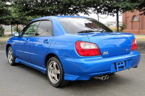 2002 SUBARU IMPREZA WRX AWD AUTOMATIC * LOW MILEAGE JDM BUG EYE For Sale (picture 2 of 6)