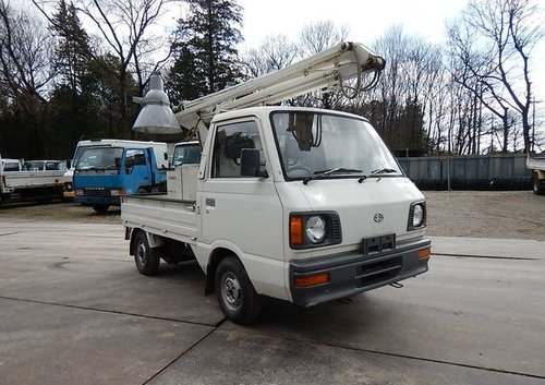 1987 SUBARU SAMBAR TRUCK ONLY 5370 MILES * MOBILE FLOODLIGHTS  For Sale (picture 2 of 6)