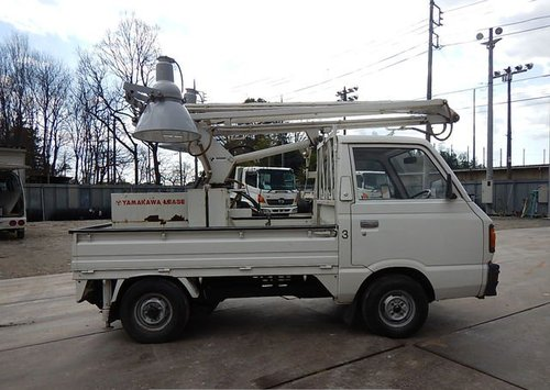 1987 SUBARU SAMBAR TRUCK ONLY 5370 MILES * MOBILE FLOODLIGHTS  For Sale (picture 3 of 6)