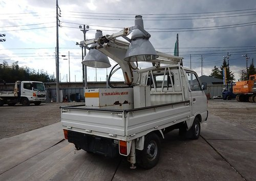 1987 SUBARU SAMBAR TRUCK ONLY 5370 MILES * MOBILE FLOODLIGHTS  For Sale (picture 6 of 6)