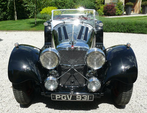 Suffolk / Jaguar SS100, 3,536 miles, One owner, 2016