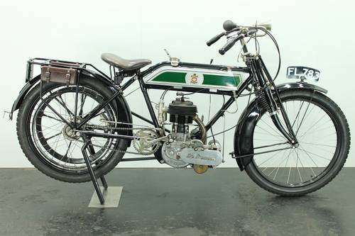 The Sun 3.5hp 1913 500cc 1 cyl sv   For Sale (picture 1 of 6)