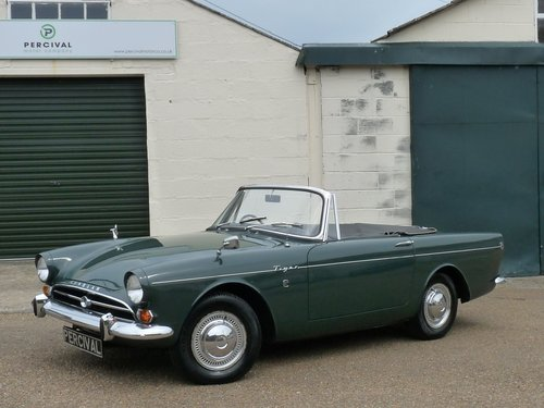 1965 Sunbeam Tiger Mk1, original and untouched, Sold SOLD (picture 1 of 6)